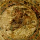 Fresco: Dionysos on a panther