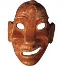 Negroid grinning masks