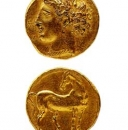 A Punic coin