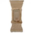 -حجر يمثل معبد و يسمى لدي الإغريق