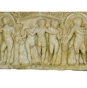 "Sarcophagus of ""the Erudite Child"" and the Seasons"