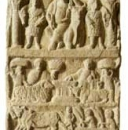 A votive stele dedicated to Saturn
